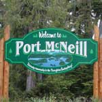 Welcome to Port McNeill BC